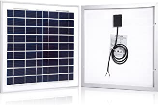 ACOPOWER 15w 15 Watts 12v Polycrystalline Photovoltaic PV Solar Panel Module for 12 Volt Battery Charging, Off Grid RV Marine Boat