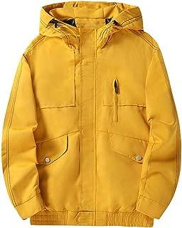 Yanlian1 Men Women Hoodies Sweatshirt Casual Pullover Couple Streetwear Hip Hop Print Hoodies,Orange 49,XL