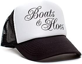Boats 'N Hoes Movie Cap Hat Unisex Adult Trucker Multi (White/Black)