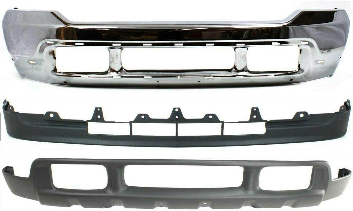 Bumper Compatible with shopping 2001-2004 Ford F-550 Super NEW before selling Duty Front Kit