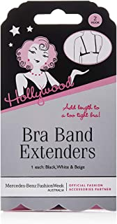 Hollywood Fashion Women's Bra Band Extenders, Various, One Size