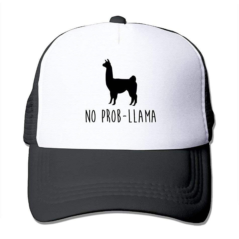高い思われる歯痛Prob-Llama Funキャップニュートラルメッシュバックフードなし