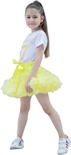 Baby Pettiskirt Little Girl Pleated Tulle Skirt Extra Fluffy Princess Tutu Skirt Dance Dress (0-10T)