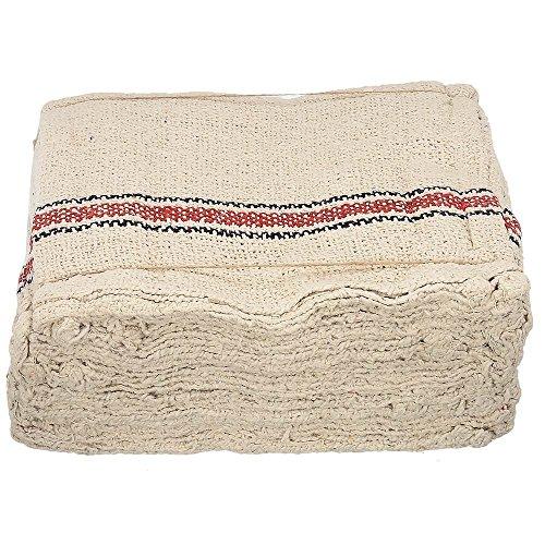 namaskaram Cotton Floor Cleaning Cloth (Set Of 4, Grey)