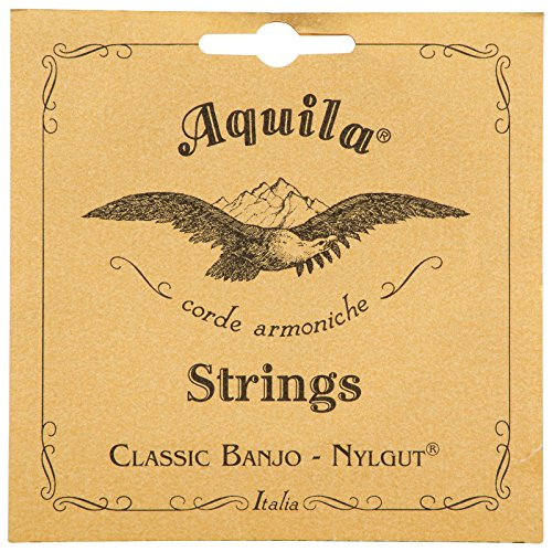 Aquila New Nylgut AQ-5B Banjo Strings – Medium Tension DBGDG-Set of 5