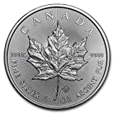 Canadian Silver Maple Leafs are a beautiful tribute to one of the most recognizable Canadian symbols in the world. The very first Canadian Silver Maple Leaf was released in 1988, and has remained an anticipated annual event ever since. Contains 1 Tro...
