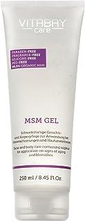 Vitabay MSM Gel Sensitive 250 ml • För kropp och ansikte • Med organiskt svavel • Perfekt för akne och oren hud