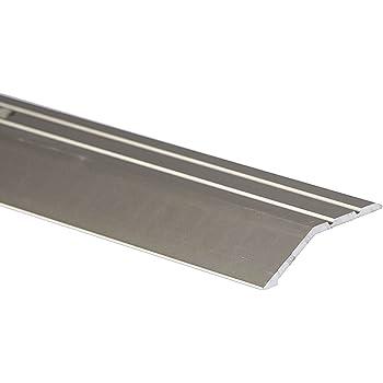 2m Ramp Edge Carpet 30x5mm Aluminium Door Trim Wooden Laminate Floors At Different Levels Tmw Profiles Silver Amazon Co Uk Diy Tools