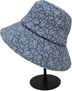 LVUITTON Hat Lady In Spring And Summer Season Big Along Sun Hat Beach Sun Protection Hat Waterproof, Breathable, Packable Bunny Hat Sunshine Beach Cap (Color : Light Blue)