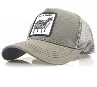 Mens Womens Baseball Cap Dad Hat Cotton Trucker Adjustable Animal Pattern Sport
