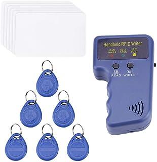 Rubik 125 KHz Handheld RFID ID Card Copier/Reader/Writer Duplicator Programmer with Writable 6pcs T5577 125khz ID Access C...