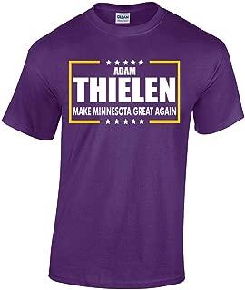Purple Minnesota Thielen Make Minnesota Great Again T-Shirt