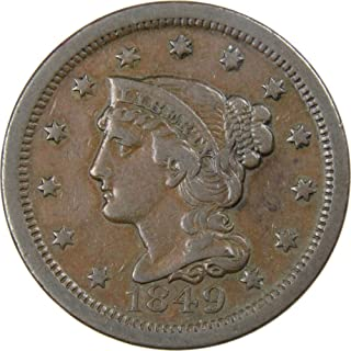 1849 large penny