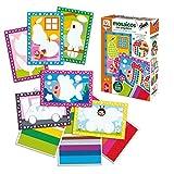 Diset- Mosaicos con Pegatinas Juego Educativo para Niños, Multicolor (68945)