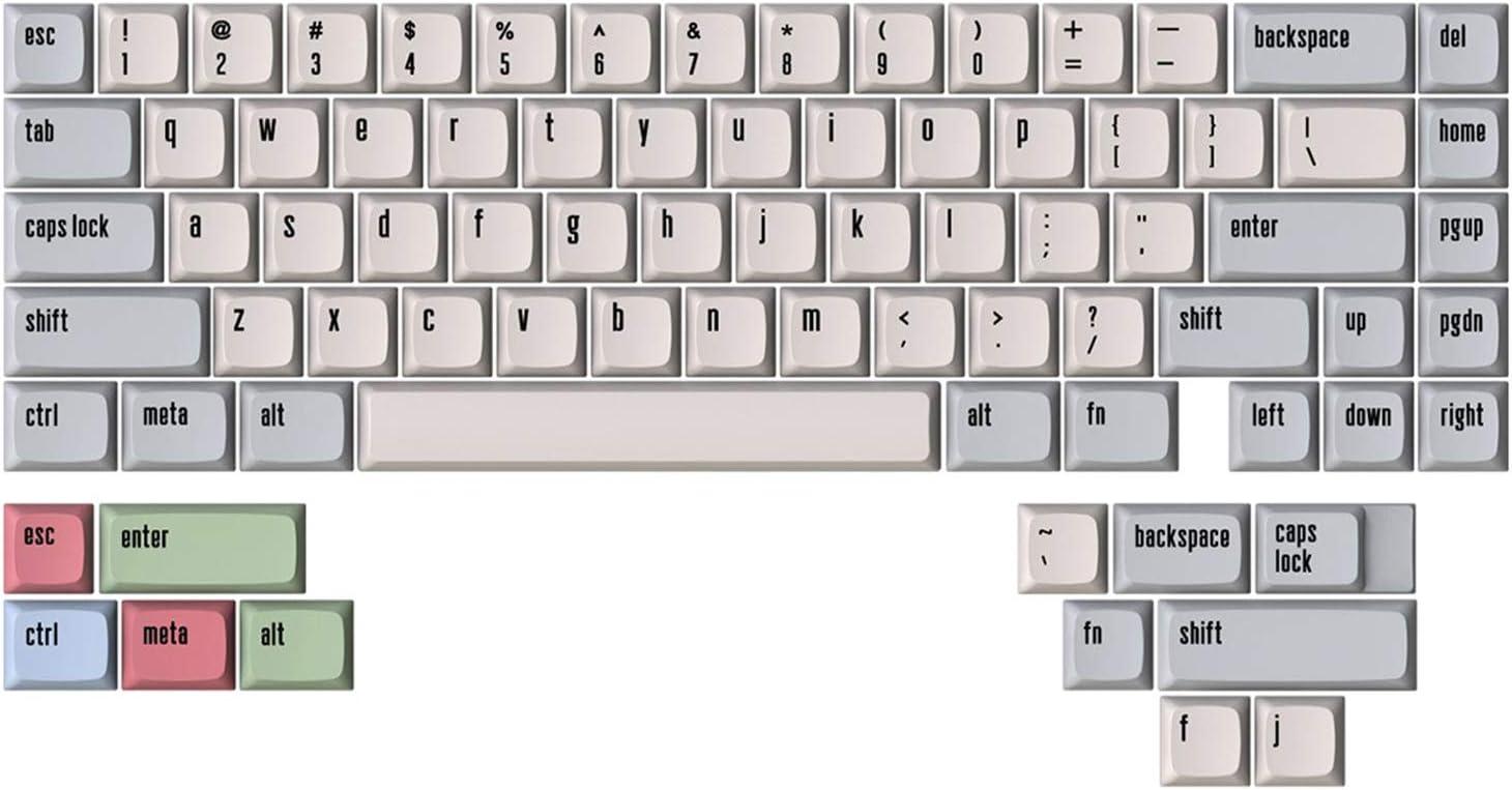 Drop + MiTo Canvas XDA Profile Dye Sub PBT Keycap Set - 65% Kit