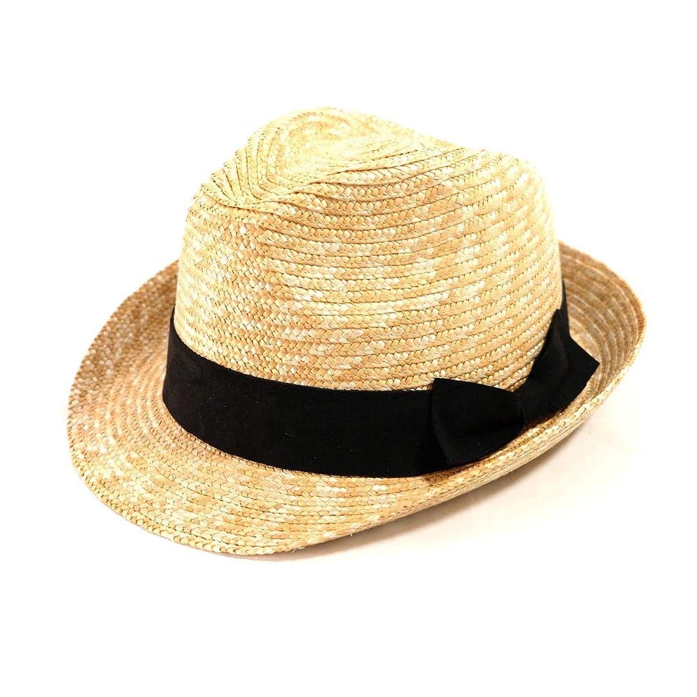 軍ミリメートルピケ麦わら帽子 中折れハット ストローハット 帽子 RILLHAT リルハット 大きいサイズ 大きい帽子 F XL