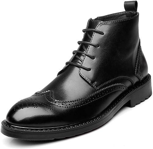 Bottes De Printemps Pour Hommes Bottes Chelsea Classiques Bottes Tendance Martin Chaussures Brogues Sculptées Chaussures De Sport
