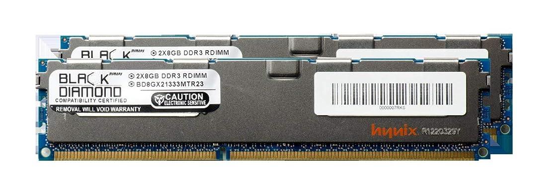 幾何学代表する廃棄16GB 2X8GB Memory RAM for Lenovo ThinkStation C20x 4266 240pin PC3-10600 1333MHz DDR3 RDIMM Black Diamond Memory Module Upgrade
