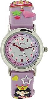 Ravel Time Teacher Princess Design Girls Watch + Telling Time Award R1513.37