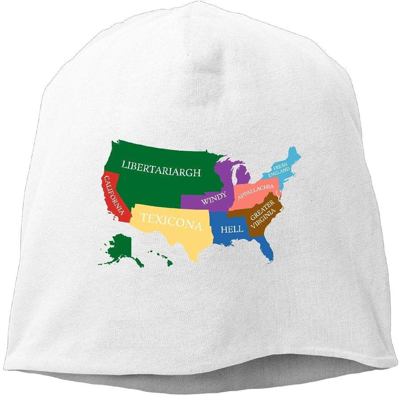 Jusxout Skull Hat Beanie Hat Winter America Women's Fashion