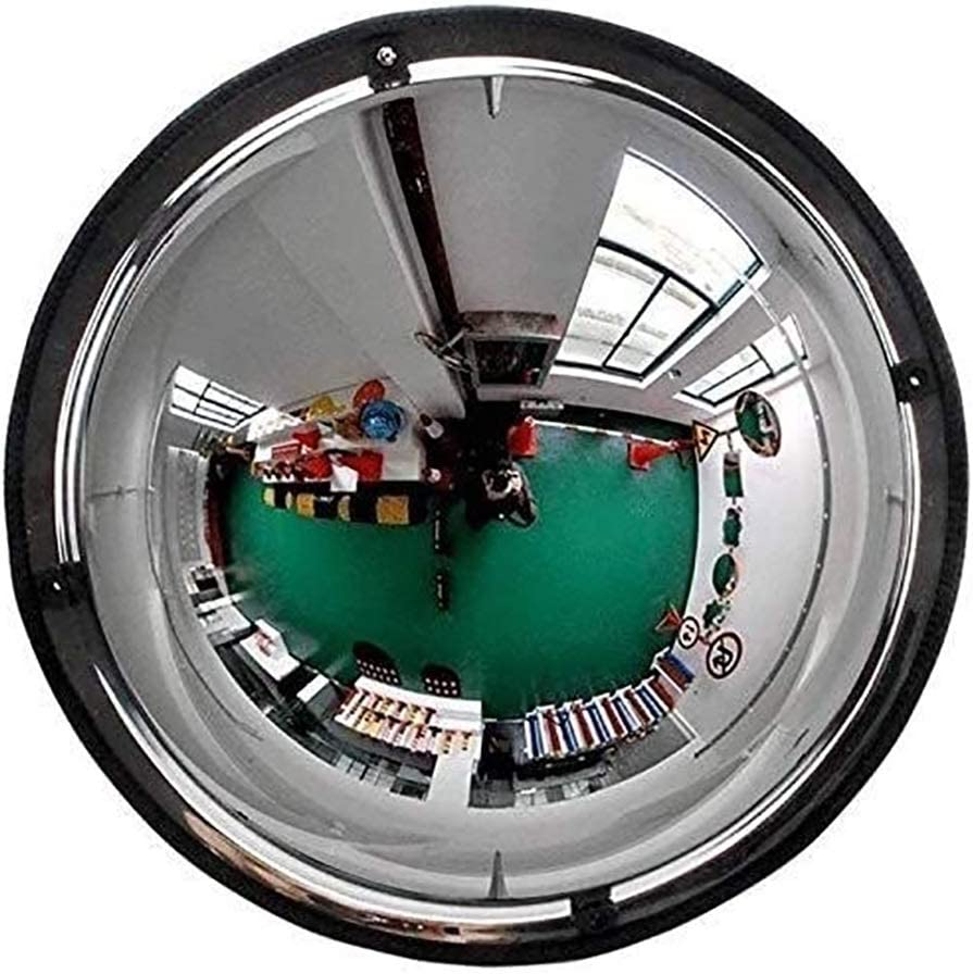 HLR Convex Mirror Adjustable Safety Wide Max 45% OFF Oakland Mall Mirrors Traffic Outdoor