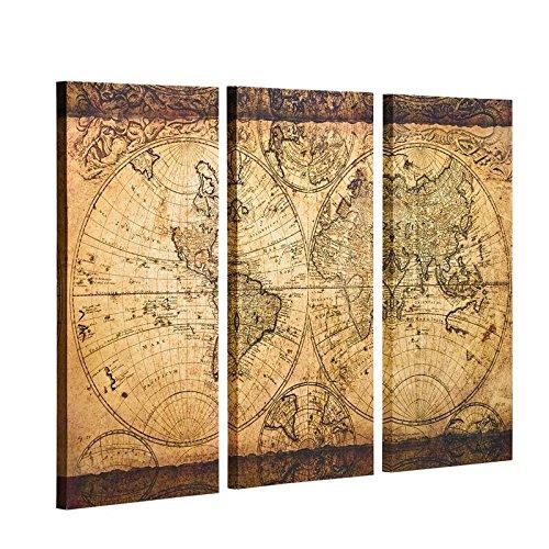 mapa tierra plana fabricante Decor MI