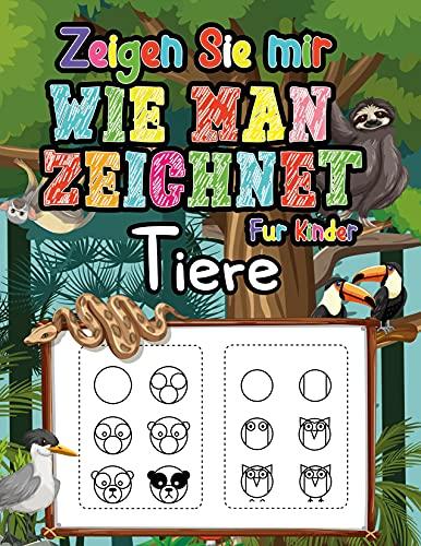 Zeigen Sie mir wie man Tiere zeichnet für Kinder: Bringen Sie Ihren Kindern mit dieser einfachen Schritt-für-Schritt-Anleitung bei