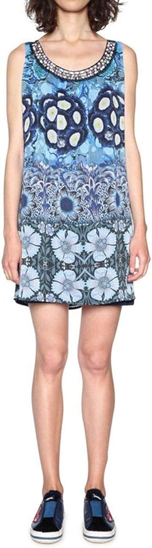 Desigual Women's 18SWVWE5MULTI Multicolor Polyester Dress