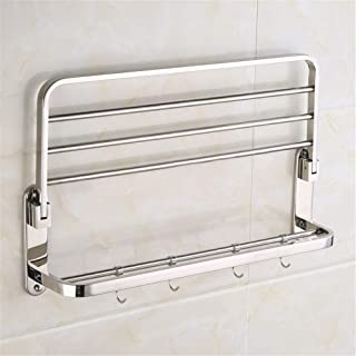 Shower Shelf SUS 304 Stainless Steel Towel Rail Shower Shelf With Tub And Shower Large Corner Basket With Hook Wall Mount ...