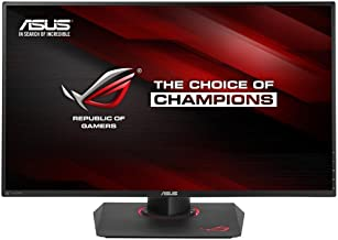 "Asus ROG Swift PG279Q 27"" Gaming Monitor, 1440P WQHD (2560 x 1440), IPS, 165Hz (Supports 144Hz), G-SYNC, Eye Care, Display..."