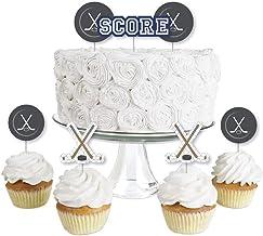 Astonishing Amazon Com Hockey Cake Decorations Funny Birthday Cards Online Benoljebrpdamsfinfo