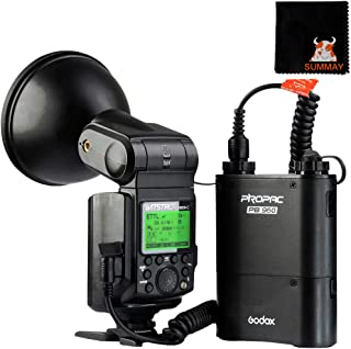 Godox AD600BM Bowens Mount 600Ws GN87 HSS al Aire Libre Flash Strobe Ligero con 2.4G Inal/ámbrico X Sistema 8700mAh Bater/ía para Proporcionar 500 Completa Potencia Flashes Reciclar en 0,01-2,5 Segundo