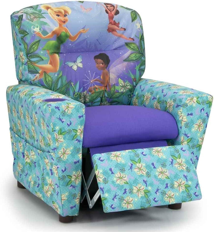 Kidz World Disneys Fairies Kids Recliner 446605, Multi-colord