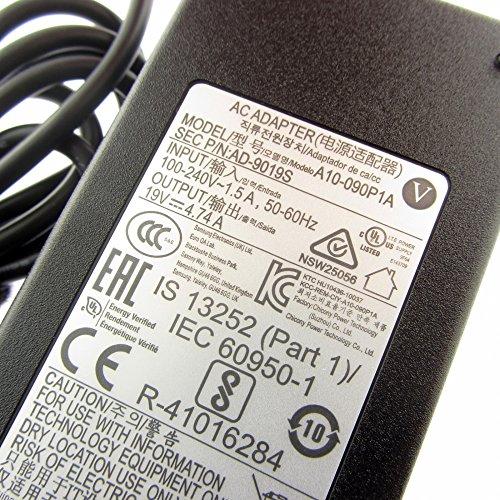 Samsung Original Netzteil AD-9019S, 19V, 4.74A P35 XVM 1500 mit Stecker 5.5x3.3mm rund