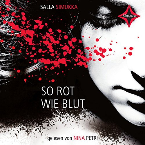 So rot wie Blut audiobook cover art