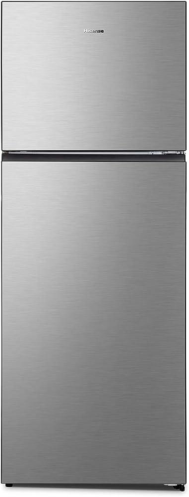 Hisense frigorifero doppia porta a++, 466 litri, total no frost, colore inox RT600N4DC2
