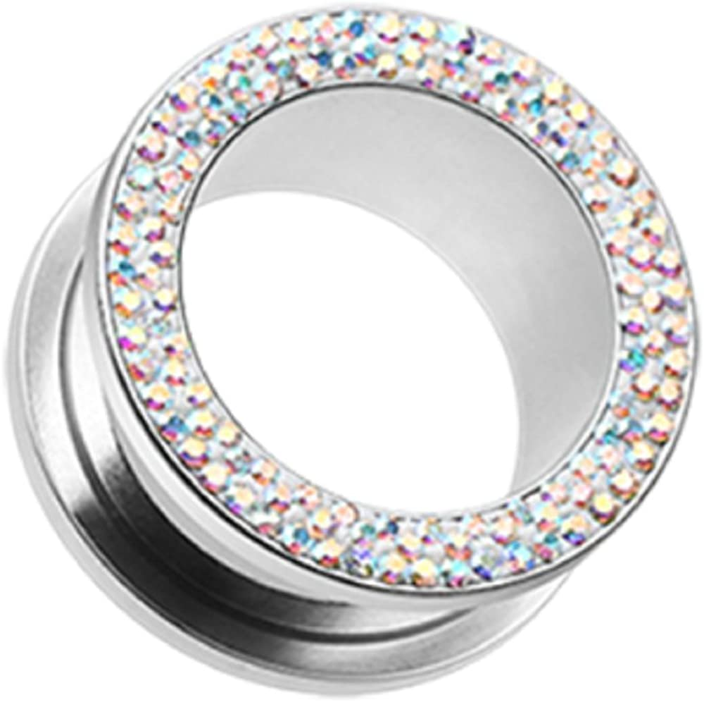 Ranking TOP18 Freedom Fashion Multi-Sprinkle Cheap mail order specialty store Dot Multi Screw-Fit Gem Gauge Ear