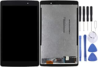 Jiangym LG Spare for LG G Pad X 8.0 / V520 LCD Screen and Digitizer Full Assembly(Black) LG Spare (Color : Black)