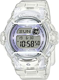 Casio Baby-G BG169R-7E Semi-Transparent Women's Sports Watch (Purple/Clear)