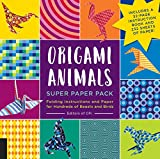 Origami Animals Super Paper Pack: Folding Instructions and Paper for Hundreds of Beasts and Birds--Includes a 32-page instruction book and 232 sheets of paper! (Origami Super Paper Pack)