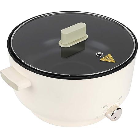Poêle Électrique Fondue Électrique, Casserole Électrique Multifonctionnel 5 L Hot Pot Électrique Chauffage Rapide, Marmite Électrique Portable pour Pique-Nique Camping (Prise UE 220V)