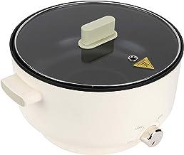Poêle Électrique Fondue Électrique, Casserole Électrique Multifonctionnel 5 L Hot Pot Électrique Chauffage Rapide, Marmite...