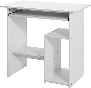 VASAGLE Bureau, Table Informatique, Poste de Travail, avec Support et étagère, Compartiment pour unité Centrale, pour Peti...