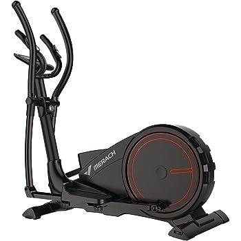 Bicicleta elíptica de entrenamiento elíptico 3 en 1 - Fitness Cardio Máquina de entrenamiento para perder peso Sensores de pulso, cinta de correr, bicicleta giratoria y función de movimiento paso: Amazon.es: Hogar