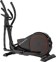 Bicicleta elíptica de entrenamiento elíptico 3 en 1 - Fitness Cardio Máquina de entrenamiento para perder peso Sensores de pulso, cinta de correr, bicicleta giratoria y función de movimiento paso