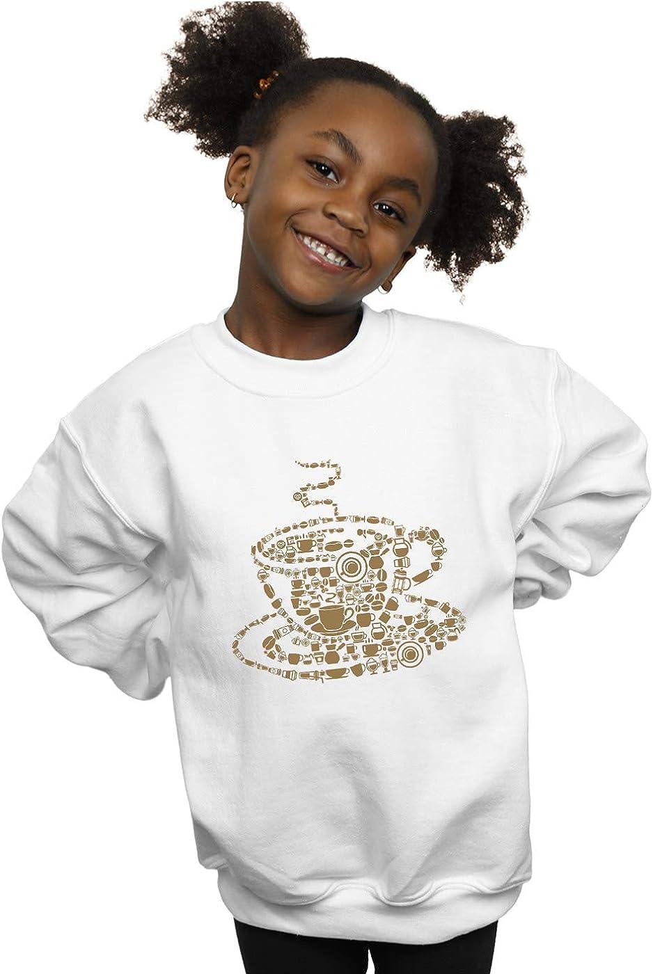 ABSOLUTECULT Drewbacca Girls Coffee Cup Sweatshirt