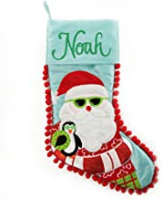 The Christmas Cart Personalised Gifts & KeepsakesPersonalised Pom Pom Beach Santa Christmas Stocking, Christmas Décor to D...