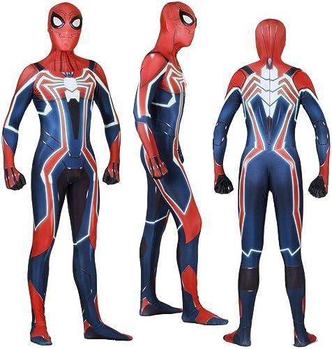 compras online de deportes PS4 Speeding Spiderman Spiderman Spiderman Cosplay Lycra Medias Siamesas 3D Impresión Digital Apretado De Halloween De Navidad Vestido Adultos Desgaste M  connotación de lujo discreta