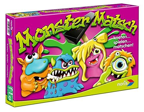 Noris 606013691 - Monster Matsch, Kinderspiel
