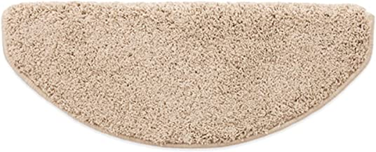 15 Piece Non Slip Stair Treads Carpet Pads, Shaggy Polypropylene Stair Mats with Skid Resistant Rubber Backing for Indoor ...